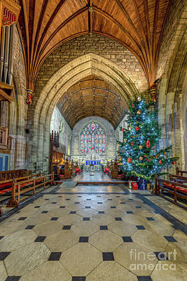 Photograph - Christmas Church by Adrian Evans