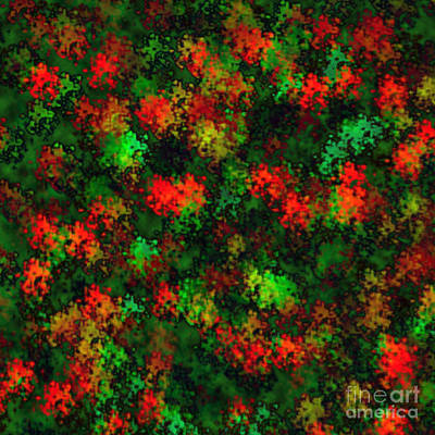 Digital Art - Christmas Colors by Susan Stevenson