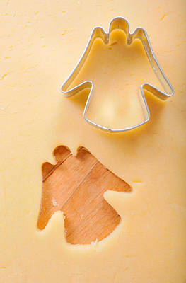 Photograph - Christmas Cookie Angel Shape by Matthias Hauser