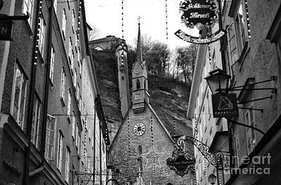 Photograph - Christmas Cross In Salzburg by John Rizzuto
