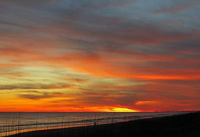 Photograph - Christmas Day Sunset by Betty Buller Whitehead