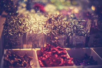 Photograph - Christmas Decoration by Jenny Rainbow