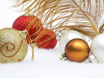 Photograph - Christmas Decoration by Wim Lanclus