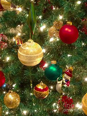 Christmas Photograph - Christmas Decorations by Chris Baboolal