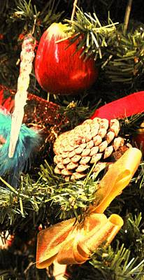 Photograph - Christmas Decorations by Ian  MacDonald