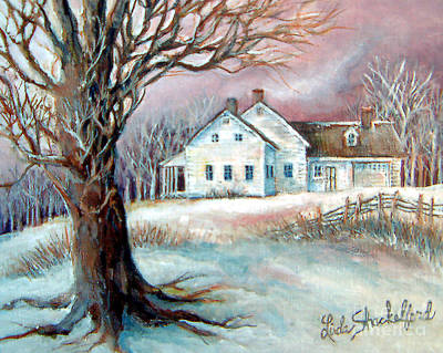 Painting - Christmas Destiny by Linda Shackelford