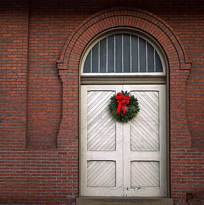 Photograph - Christmas Doors by Joseph Skompski
