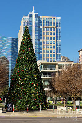 Photograph - Christmas Downtown Dallas by Jennifer White