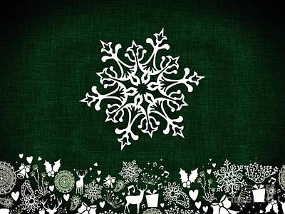 Digital Art - Christmas Elements 2 by Erika H
