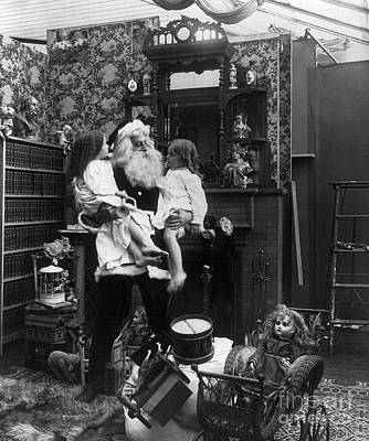 Santa Claus Painting - Christmas Eve, C1906 by Granger