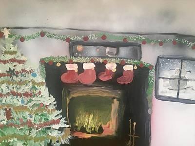 Ballerina Art - Christmas eve by Christopher Kralicek