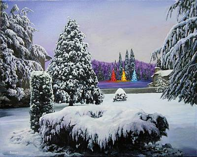 Painting - Still Night by Richard Barone