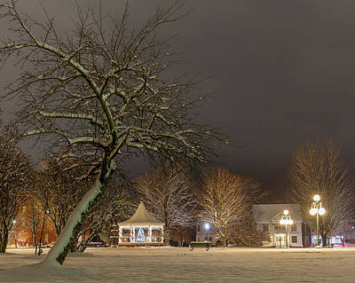 Photograph - Christmas Evening In The Park by Tim Kirchoff