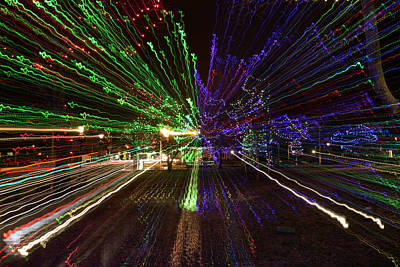 Photograph - Christmas Exploding by John Forde