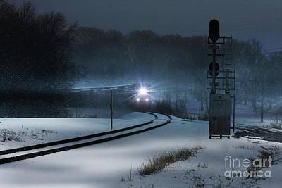 Photograph - Christmas Express by Rick Lipscomb