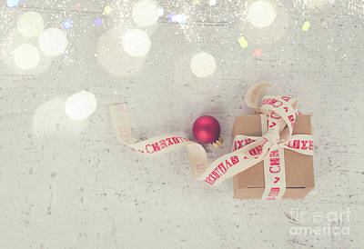 Photograph - Christmas Magic Gift by Anastasy Yarmolovich