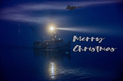 Photograph - Christmas From Sea by Bill Posner