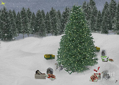 Photograph - Christmas Gifts by Sandra Clark