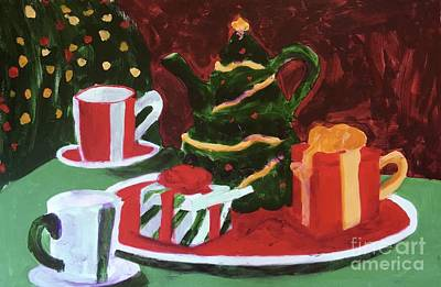 Painting - Christmas Holiday by Donald J Ryker III