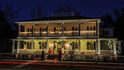 Photograph - Christmas House On Amelia Island by Paula Porterfield-Izzo