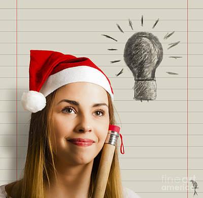 Wish List Photograph - Christmas Idea List by Jorgo Photography - Wall Art Gallery