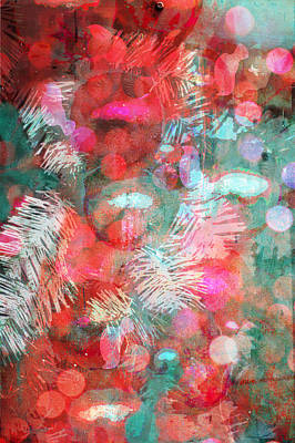 Photograph - Christmas Impressions In Red by Suzanne Powers