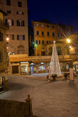Photograph - Christmas In Cortona 2 by Al Hurley