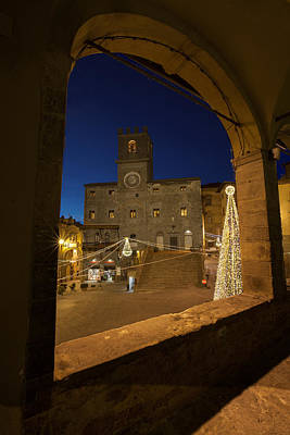 Photograph - christmas in Cortona 3 by Al Hurley