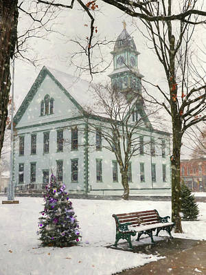 Photograph - Christmas In Coudersport by Lori Deiter
