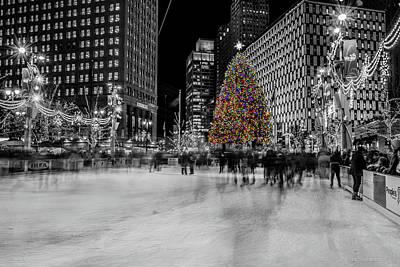 Photograph - Christmas In Detroit  by Pravin Sitaraman