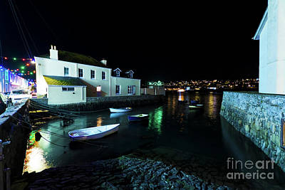 Photograph - Christmas In Flushing Cornwall by Terri Waters