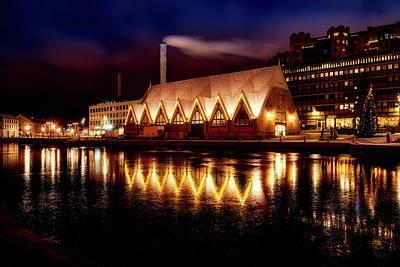 Photograph - Christmas In Gothenburg by Pasi Mammela