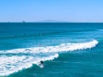 Photograph - Christmas In Huntington Beach California by Ram Vasudev