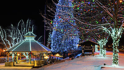 Photograph - Christmas In Leavenworth by Dan Mihai