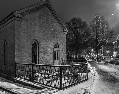 Photograph - Christmas In Lowell 373 by Jeff Stallard