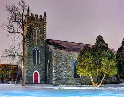 Photograph - Christmas In Lowell 374 by Jeff Stallard