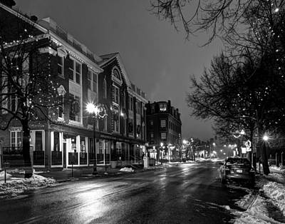Photograph - Christmas In Lowell 376 by Jeff Stallard