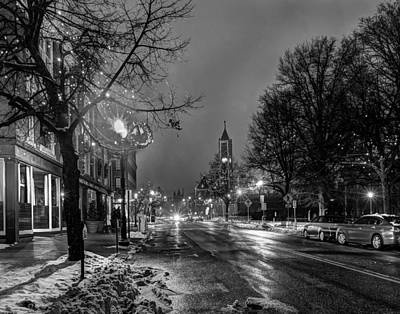 Photograph - Christmas In Lowell 377 by Jeff Stallard