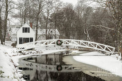Photograph - Christmas In Maine by Karin Pinkham