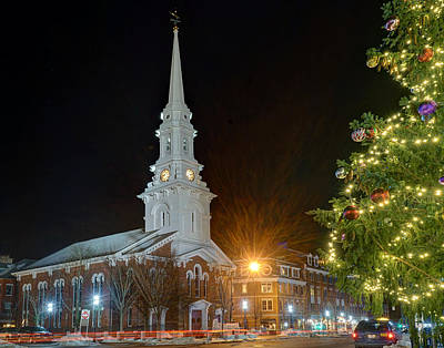 Photograph - Christmas In Market Square by Jeff Stallard