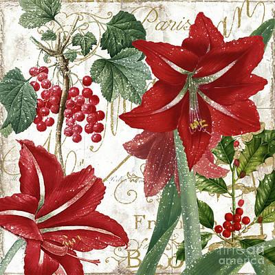 Christmas In Paris II Art Print