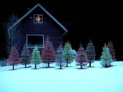 Photograph - Christmas In Petersburg by Laura Wong-Rose