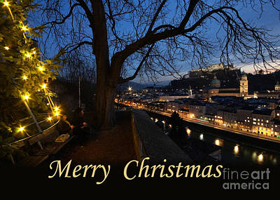 Photograph - christmas in Salzburg by Rudi Prott