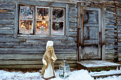 christmas in Scandinavia Art Print