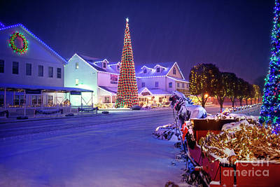 Photograph - Christmas In Shipshewana by David Arment