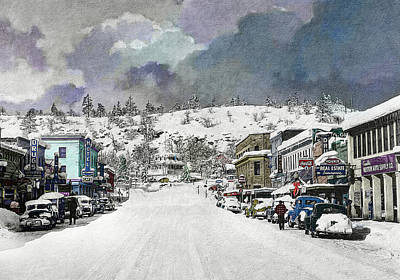 Photograph - Christmas In Susanville, 1953 by The Couso Collection