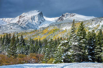 Photograph - Christmas In The Rockies by Darren White