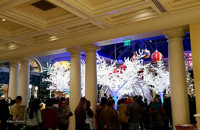 Photograph - Christmas In Vegas by Kume Bryant