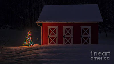 Photograph - Christmas In Vermont by Scenic Vermont Photography