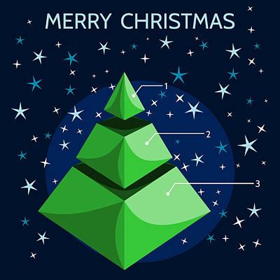 Christmas Infographic Art Print